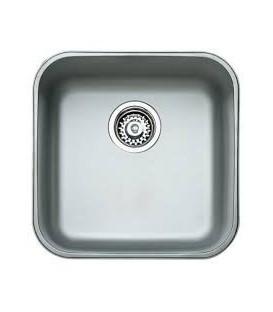 Cubeta acero inox de 400x400x250 mm